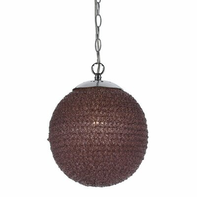 Chloe 1 Light Globe Pendant by angelo:HOME