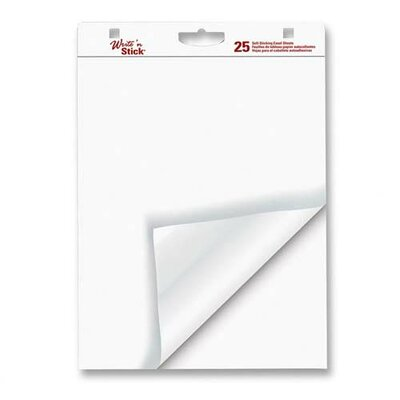 """Adams Business Forms Easel Pad, 20lb., Self-stick, 6 Count, 20""""x23"""" Sheets, White"""