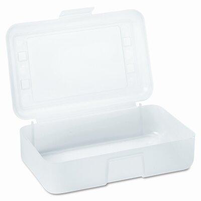 Advantus Corp. Gem Pencil/Box with Lid, 8 1/2 X 5 1/2 X 2 1/2