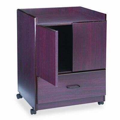 Advantus Corp. Vertiflex Mobile Deluxe Coffee Bar 2 Door Storage Cabinet