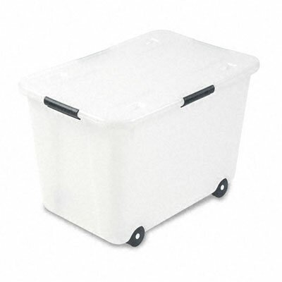 Advantus Corp. Rolling Storage Box, Letter/Legal, 15-Gallon Size