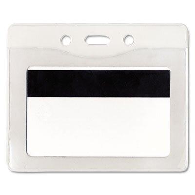 Advantus Corp. Security Id Badge Holder, Horizontal, 3 7/8W X 2 5/8H, 50/Box