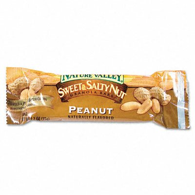 Advantus Corp. Granola Bars, Sweet & Salty Nut Peanut Cereal, 1.5oz Bar, 16/box