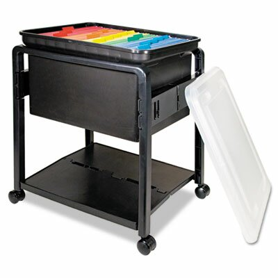 Advantus Corp. Folding Mobile File Cart