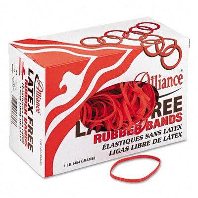 Alliance Rubber Latex-Free Orange Rubber Bands, Size 33, 3-1/2 X 1/8, 850/Box