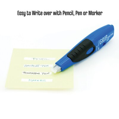 Tombow Mono Retractable Pen Style Correction Tape, Black/Blue (2-Pack)