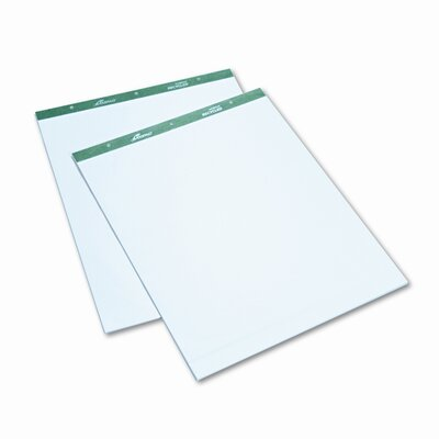AMPAD Corporation Envirotec Flip Chart Pads, Unruled, 27 X 34, 2 50-Sheet Pads/Pack