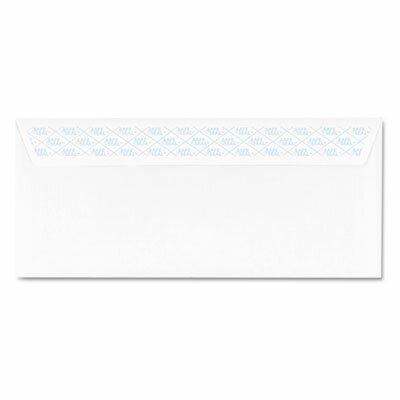 AMPAD Corporation Safeseal Security Envelope, Self-Adhesive, #10, 100/Box