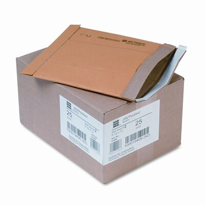 Sealed Air Corporation Jiffy Padded Self-Seal Mailer, Side Seam, #2, 25/Carton