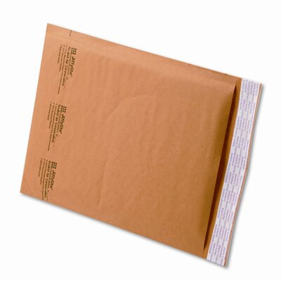 Sealed Air Corporation Jiffylite Self-Seal Mailer, Side Seam, #2, 8 1/2 X 12, 100/Carton