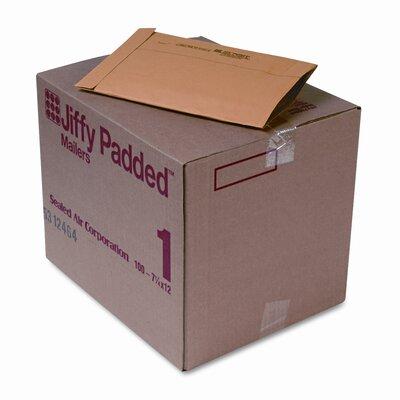 Sealed Air Corporation Jiffy Padded Mailer, Side Seam, #1, 100/Carton