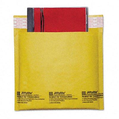 Sealed Air Corporation Jiffylite CD/DVD Self-Seal Mailer, Side Seam, 25/Carton