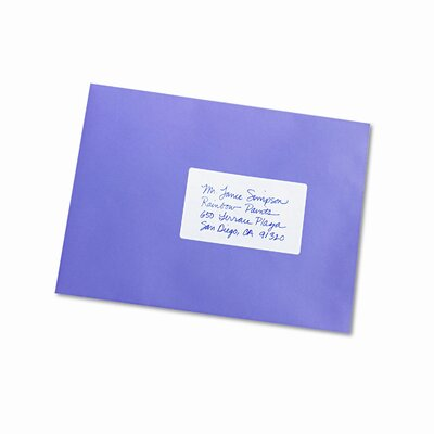 Avery Consumer Products Print or Write Removable Multi-Use Labels, 40/Pack