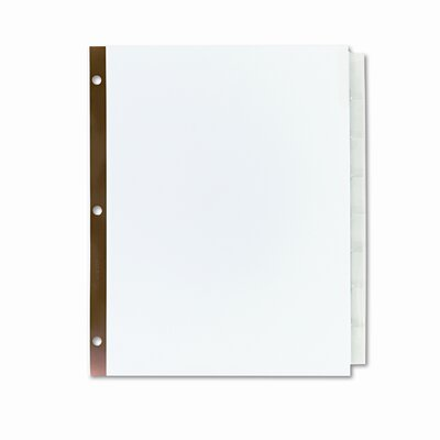 Avery Consumer Products Worksaver Big Tab Dividers with Clear Tabs (8 Tabs)