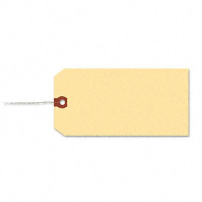 Avery Consumer Products Paper/Double Wire Shipping Tags, 3 3/4 X 1 7/8 (1,000/Box)