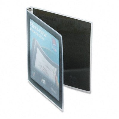 """Avery Consumer Products Flexi-View Round-Ring Presentation View Binder, 1/2"""" Capacity"""