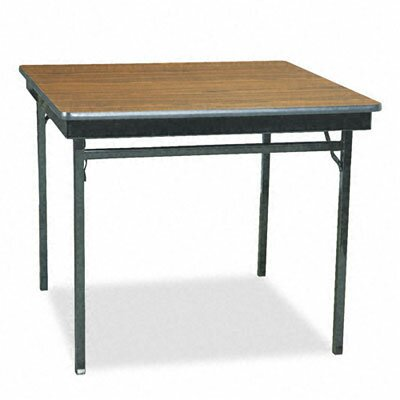 "BARRICKS MANUFACTURING CO 36"" Square Folding Table"
