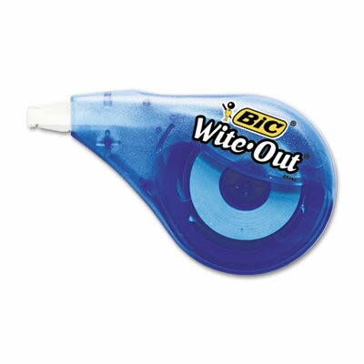 Bic Corporation Non-Refillable Wite-Out Ez Correct Correction Tape