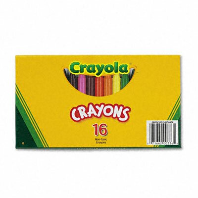 Crayola LLC Large Crayons (16/Box)