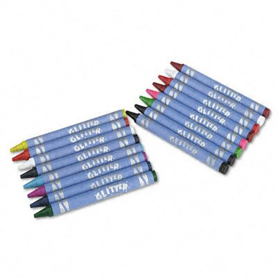 Crayola LLC Glitter Crayons (16 Colors/Set)