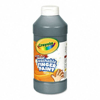 Crayola LLC Washable Fingerpaint, 16 Oz