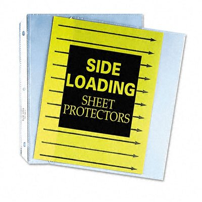 C-Line Products, Inc. Side Loading Polypropylene Sheet Protector (50/Box)
