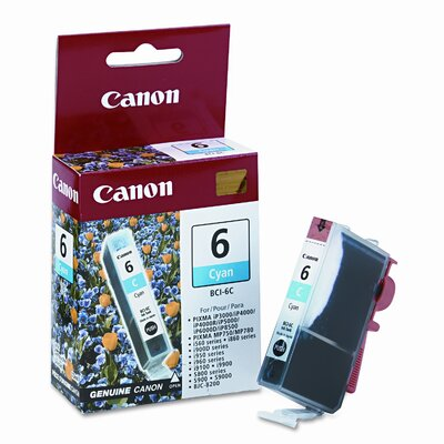 Canon Bci6C (Bci-6) Ink Tank (370 Page-Yield)