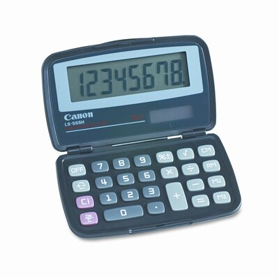 Canon LS-555H Basic Calculator, Eight-Digit LCD