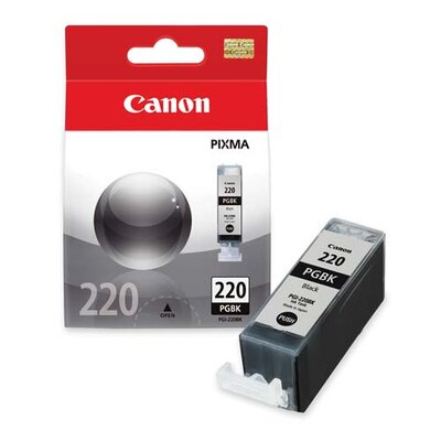Canon Pigment Ink Cartridge, 350 Page Yield, Black