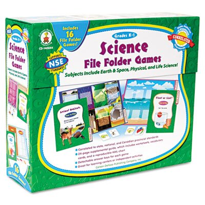 Carson-Dellosa Publishing Science File Folder