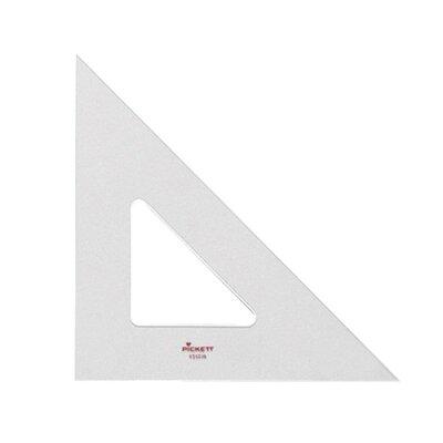 "Higgins Triangle, 45-90 Degrees, 10"", Clear"