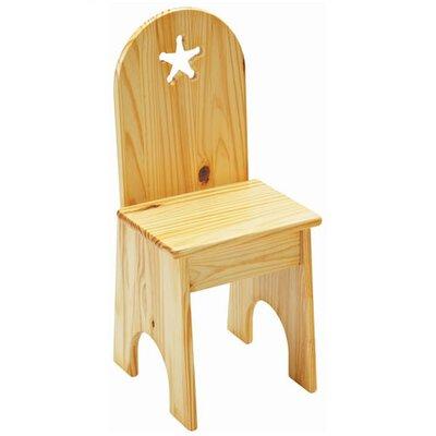 Star Kid's Desk Chair by Little Colorado