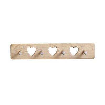 Little Colorado Heart Peg Coat Rack