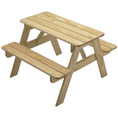 Kids' Picnic Table by Little Colorado