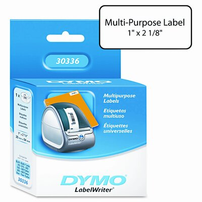 Dymo Corporation 30336 Multipurpose Labels, 500/Box