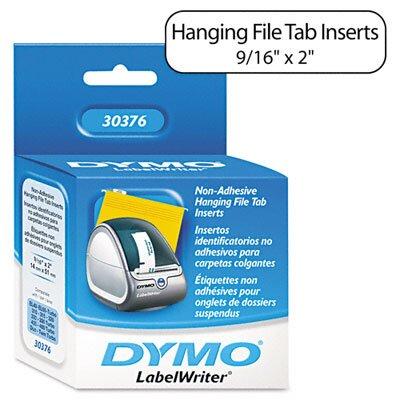 Dymo Corporation Hanging File Folder Tab Inserts, 260/Box