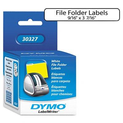 Dymo Corporation 30327 1-Up File Folder Labels, 260/Box