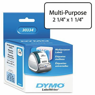 Dymo Corporation Address Labels, 1000/Pack