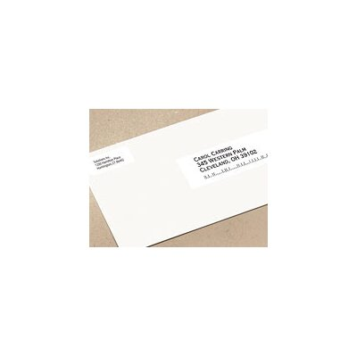 Dymo Corporation 2-Up Labelwriter Address Labels, 700 Lbls/Roll, 1 Roll