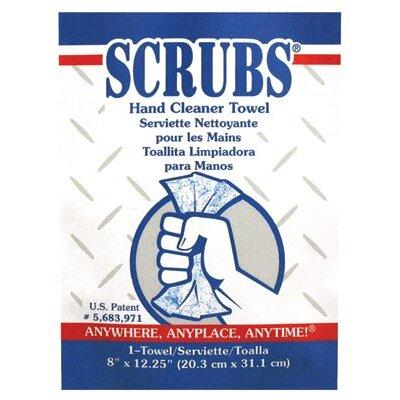 Dymon SCRUBS® Hand Cleaner Towels - scrubs hand cleaner towel 1/packet