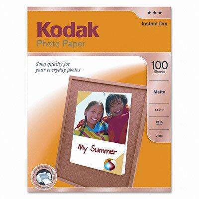 Eastman Kodak Matte Photo Paper, 100 Sheets/Pack