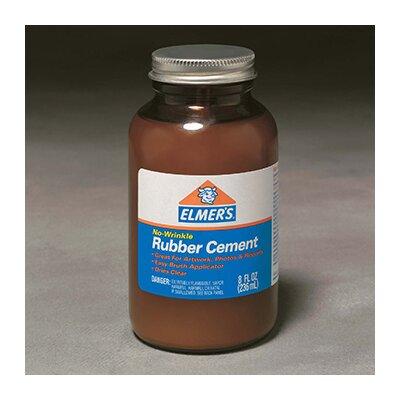 Elmer's Products Inc Rubber Cement W/applc 8oz