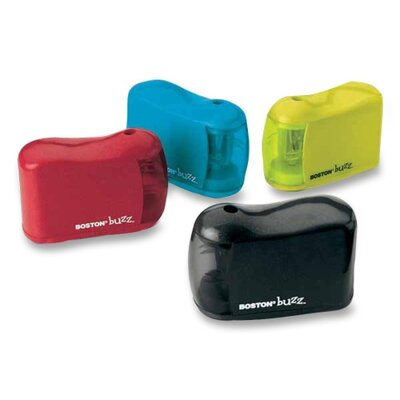 """Elmer's Products Inc Pencil Sharpener, Uses """"AA"""" Batteries, Assorted"""