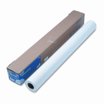 "Epson America Inc. Non-Glare Matte-Finish Inkjet Paper, Double-Weight, 36"" x 82ft Roll"