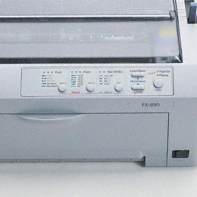 Epson America Inc. Fx-890 Dot Matrix Impact Printer