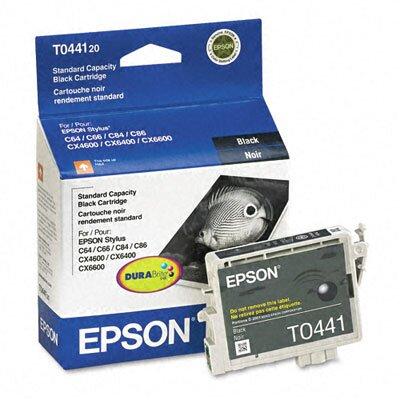 Epson America Inc. T044120 Durabrite Ink, 400 Page-Yield