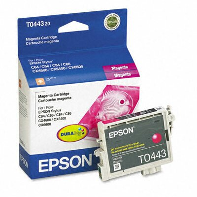 Epson America Inc. T044320 Durabrite Ink, 400 Page-Yield