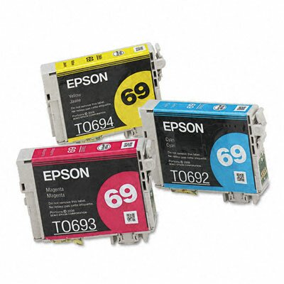 Epson America Inc. T069520 Ink, 3/Pack