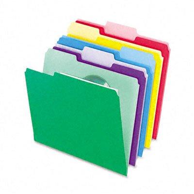 Esselte Pendaflex Corporation File Folders, Infopocket, 1/3 Cut Top Tab, Letter, 30/Pack