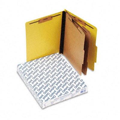 Esselte Pendaflex Corporation Pressguard Classification Folders, Letter, Six-Section, 10/Box